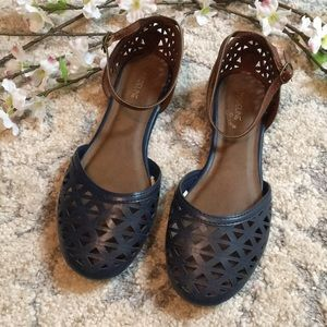 Madeline Stuart Ankle Strap Flat Sandals